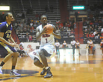 "Ole Miss forward Terrance Henry (1) at the C.M. ""Tad"" Smith Coliseum in Oxford, Miss. on Thursday, December 29, 2010. Ole Miss won 100-62. (AP Photo/Oxford Eagle, Bruce Newman)"