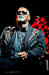 Ricky McKinnie of The Blind Boys of Alabama during their performance at the 2011 Wiggins Park Labor Day weekend concert.
