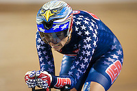 Picture by Alex Whitehead/SWpix.com - 04/03/2017 - Cycling - UCI Para-cycling Track World Championships - Velo Sports Center, Los Angeles, USA - USA's Shawn Morelli wins Gold.