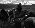 Cattle ranching and the ranchers and gauchos - Argentine and American - of Patagonian Argentina in the foothills of the Andean Cordillera.