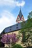 Katholische Kirche Sankt Georg: ca 7. Jh. Turm (Romanik), ca. 1400 Choranbau (Gotik), 1776-1779 Kirchenschiff (Barock)
