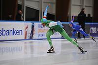 SCHAATSEN: LEEUWARDEN, 22-10-2016, Elfstedenhal,  KNSB Trainingswedstrijden, Anice Das, ©foto Martin de Jong