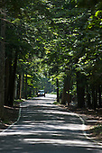Tunnel of Trees, M-119 in Emmet County Michigan, a Heritage Route
