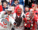 October 2, 2010 - Champaign, IL- BUCKIGUY, BUCKEYEMAN, and BIG NUT were among the many Ohio State fans who made the road trip for the game between the University of Illinois Fighting Illini and the Ohio State Buckeyes at Memorial Stadium.  Ohio State defeated Illinois 24 to 13.