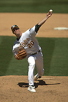 Mark Mulder. Baseball: Pittsburgh Pirates vs Oakland Athletics. Oakland, CA 6/13/2004 MANDATORY CREDIT: Brad Mangin