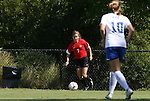 04 October 2009: Maryland's Caitlin McDowell (7). The University of Maryland Terrapins defeated the Duke University Blue Devils 4-0 at Koskinen Stadium in Durham, North Carolina in an NCAA Division I Women's college soccer game.