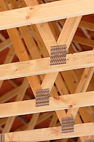 Building roof joints<br />