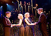 Side Show <br /> at Southwark Playhouse, London, Great Britain <br /> 25th October 2016 <br /> <br /> Side Show is presented by Paul Taylor-Mills<br /> Music composed by Henry Krieger<br /> Book and Lyrics by Bill Russell<br /> Additional Book material is by Bill Condon<br /> Directed by Hannah Chissick<br /> Choreography by Matthew Cole <br /> Design by takis <br /> Musical direction by Jo Cichonska<br /> Sound design by Dan Simpson<br /> <br /> <br /> Haydn Oakley as Terry Connor<br /> <br /> Louise Dearman and Laura Pitt-Pulford as conjoined twins Daisy and Violet Hilton<br /> <br /> Dominic Hodson as Buddy Foster<br /> <br /> <br /> <br /> <br /> Photograph by Elliott Franks <br /> Image licensed to Elliott Franks Photography Services