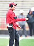 College Park, MD - APR 22, 2016: Maryland Terrapins head coach DJ Durkin in action during the 2017 Spring game at Capital One Field at Maryland Stadium in College Park, MD. (Photo by Phil Peters/Media Images International)