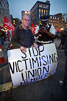 "17.10.2012 - ""Stop the Union Busters"" - Protest"