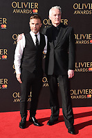 Gary Barlow &amp; Tim Firth at The Olivier Awards 2017 at the Royal Albert Hall, London, UK. <br /> 09 April  2017<br /> Picture: Steve Vas/Featureflash/SilverHub 0208 004 5359 sales@silverhubmedia.com