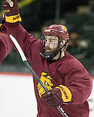 110406 - F4 University of Minnesota-Duluth Bulldogs practice