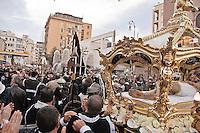 Celebrazione dei riti pasquali nel quartiere Albergheria del centro storico di Palermo.<br /> <br /> Celebration of Holy Week in the suburbs of the historic center in Palermo