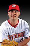 25 February 2007: Washington Nationals pitcher Brett Campbell poses for his Photo Day portrait at Space Coast Stadium in Viera, Florida.<br /> <br /> Mandatory Photo Credit: Ed Wolfstein Photo<br /> <br /> Note: This image is available in a RAW (NEF) File Format - contact Photographer.