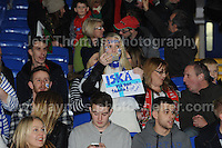 Finland and Welsh supporters during the Wales v Finland Vauxhall International friendly football match at the Cardiff City stadium, Cardiff, Wales. Photographer - Jeff Thomas Photography. Mob 07837 386244. All use of pictures are chargeable.