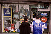 Football in south korea///Football en coree du sud///sport shop (football) at Tongdaemun market , east gate  seoul  Korea   marche TONGDAEMUN, Porte de L'est  seoul  coree  ///R20136/    L0006912  /  P105243