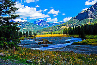 The Lamar River in Yellowstone National Park