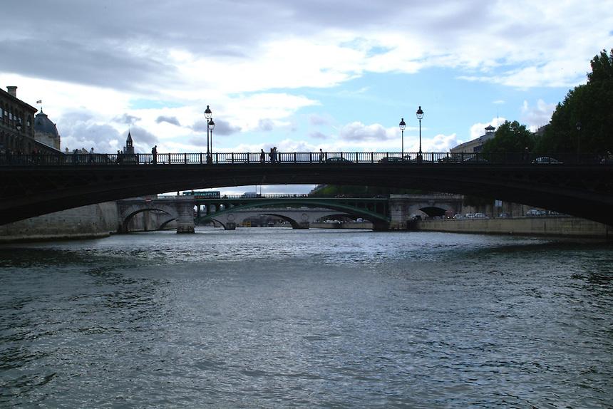 Paris bridges over the Seine.