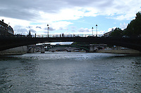 Paris bridges over the Seine.