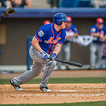3 March 2016: New York Mets infielder Marc Krauss in action during a Spring Training pre-season game against the Washington Nationals at Space Coast Stadium in Viera, Florida. The Mets fell to the Nationals 9-4 in Grapefruit League play. Mandatory Credit: Ed Wolfstein Photo *** RAW (NEF) Image File Available ***