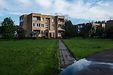Wohnhaus von Nadja, 23 Jahre alt, hier lebt sie mit ihrem Ehemann<br />House of 23 old social worker Nadja where she lives with her husband