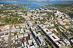 University of Washington campus, including the new West Campus residences