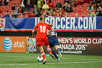 Atlanta, GA - US Women's  National Team plays international friendly match against Russia at Georgia Dome, Thursday, February 13, 2014. The U.S. defeated Russia, 8-0.