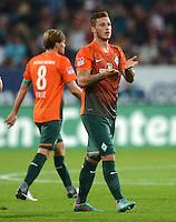 FUSSBALL   1. BUNDESLIGA  SAISON 2012/2013   7. Spieltag FC Augsburg - Werder Bremen          05.10.2012 Marko Arnautovic (SV Werder Bremen)