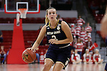 29 December 2016: Notre Dame's Marina Mabrey. The North Carolina State University Wolfpack hosted the University of Notre Dame Fighting Irish at Reynolds Coliseum in Raleigh, North Carolina in a 2016-17 NCAA Division I Women's Basketball game. NC State won the game 70-62.