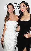 LOS ANGELES, CA, USA - OCTOBER 08: Hilary Swank, Emmy Rossum arrive at the Los Angeles Premiere Of eOne Films' 'You're Not You' held at the Landmark Theatre on October 8, 2014 in Los Angeles, California, United States. (Photo by Celebrity Monitor)