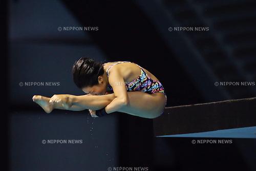 Fuka Tatsumi (JPN), SEPTEMBER 22, 2013 - Diving : All Japan Diving Championship 2013 Women's 10m Platform Final at Tatsumi International Swimming Pool, Tokyo, Japan.(Photo by AFLO SPORT) [1156]