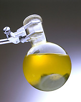 ORGANIC REACTION: YIELD RELIABILITY<br /> Potassium Dichromate &amp; Isopropyl Alcohol<br /> The alcohol is acidified with H2SO4(aq).  K2Cr2O7(aq) is added to the alcohol followed by NaOH(aq).