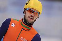 "SHORT TRACK: MOSCOW: Speed Skating Centre ""Krylatskoe"", maart-2015, ISU World Short Track Speed Skating Championships 2015, World Champion Sjinkie KNEGT (NED), ©photo Martin de Jong"