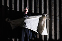 English National Opera presents a new production of NORMA, by Vincenzo Bellini, directed by Christopher Alden, at the London Coliseum. Picture shows: Adrian Dwyer (Flavio)