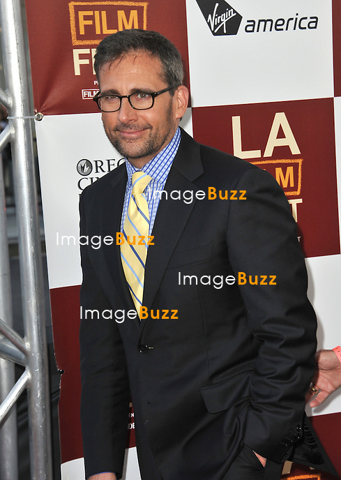 "Steve Carell at the world premiere of his movie ""Seeking a Friend for the End of the World"" at Regal Cinemas LA Live..June 19, 2012  Los Angeles, CA."