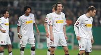 FUSSBALL   DFB POKAL   SAISON 2011/2012   HALBFINALE   21.03.2012 Borussia Moenchengladbach - FC Bayern Muenchen  Roel Brouwers (Mitte, Borussia Moenchengladbach)