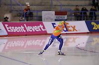 SCHAATSEN: CALGARY: Olympic Oval, 09-11-2013, Essent ISU World Cup, 500m, Thijsje Oenema (NED), ©foto Martin de Jong