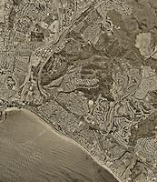 historical aerial photograph Capistrano Beach, California, 1994