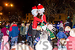 The switching on christmas lights in Castleisland on Saturday