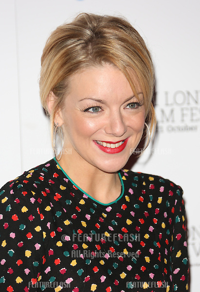 Sheridan Smith at the 56th BFI London Film Festival: Quartet - photocall held at the Empire cinema, London. 15/10/2012 Picture by: Henry Harris / Featureflash