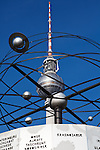 The television Tower is situated on Alexanderplatz in the heart of Berlin.