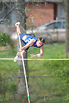 Oxford High's Austin Super pole vaults at the Oxford Eagle Invitational at Oxford High School in Oxford, Miss. on Monday, March 28, 2011.