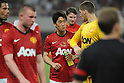 Shinji Kagawa (Man.U),.JULY 25, 2012 - Football/Soccer :.Shinji Kagawa of Manchester United talks with his teammate Sam Johnstone after the pre-season friendly Chevrolet China Cup match between Shanghai Shenhua 0-1 Manchester United at Shanghai Stadium in Shanghai, China. (Photo by AFLO)