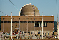 PGE TROJAN NUCLEAR POWER GENERATING PLANT<br /> Reactor, Generator &amp; Power Lines<br /> First decommissioned pressurized water reactor.