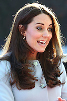 UK: Duchess of Cambridge at Kensington Aldridge Academy