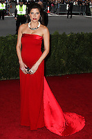 """NEW YORK CITY, NY, USA - MAY 05: Lake Bell at the """"Charles James: Beyond Fashion"""" Costume Institute Gala held at the Metropolitan Museum of Art on May 5, 2014 in New York City, New York, United States. (Photo by Xavier Collin/Celebrity Monitor)"""