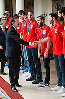 Prime Minister Mariano Rajoy to Spainbasketball