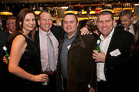 Nigel Jones of Kaplan (second left) is pictured with Anne Marie-Hunt, Adam Parker and Craig Pearson all of Nat West