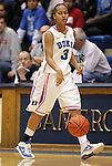 15 February 2012: Duke's Shay Selby. The Duke University Blue Devils defeated the Virginia Tech Hokies 67-45 at Cameron Indoor Stadium in Durham, North Carolina in an NCAA Division I Women's basketball game.