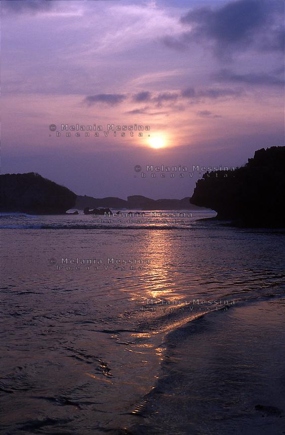 Indonesia, Java island: Boron coast.<br /> Indonesia; Giava: costa di Boron.